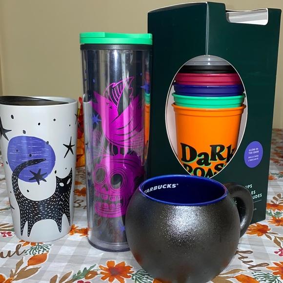 Starbucks Halloween set